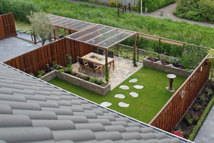 Familie tuin projecten vogelaar hoveniers - Een terras aan het plannen ...